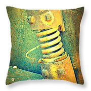 Coil Throw Pillow