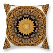Coins And Love Con Pasta Throw Pillow by Pepita Selles