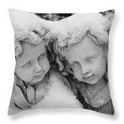 Cold Comfort Throw Pillow
