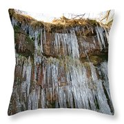 Cold Day In The Valley 4 Throw Pillow