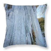 Cold Day In The Valley 6 Throw Pillow