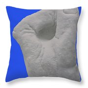 Cold Hands Throw Pillow