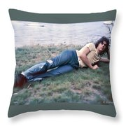 Colin Ward Throw Pillow