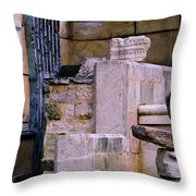 Collection Of Artifacts Number 1 Throw Pillow