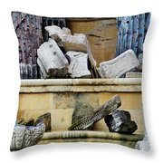 Collection Of Artifacts Number 2 Throw Pillow