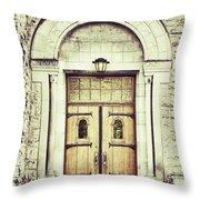 Collegiate Throw Pillow