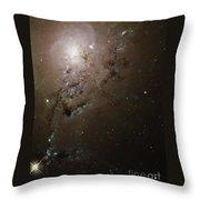 Colliding Galaxies Ngc 1275, Hubble Throw Pillow