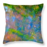 Colonial Glass Polarized Throw Pillow