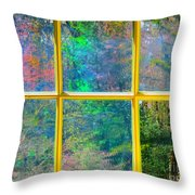 Colonial Window Panes Throw Pillow
