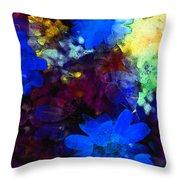 Color 109 Throw Pillow