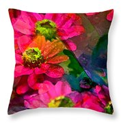 Color 110 Throw Pillow