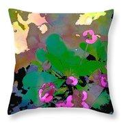 Color 116 Throw Pillow