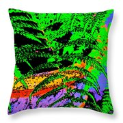 Color 87 Throw Pillow