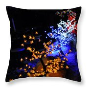 Color Berries Throw Pillow