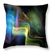 Color By Design 5 Throw Pillow