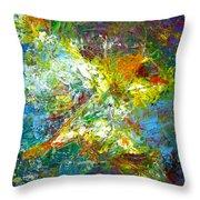 color explosion NO. Seventy Throw Pillow