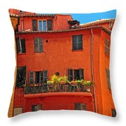 Color In Provence Throw Pillow