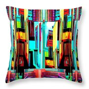 Color Me New Throw Pillow