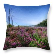 Color Of Summer Throw Pillow