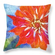Color Symphony IIi Throw Pillow