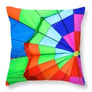Color Wheel Take 2 Throw Pillow