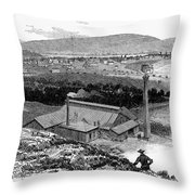 Colorado: Durango, 1883 Throw Pillow