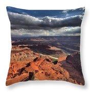 Colorado In The Distance Throw Pillow
