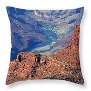 Colorado River I Throw Pillow