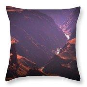 Colorado River II Throw Pillow