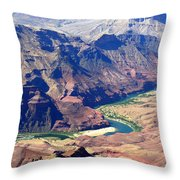 Colorado River IIi Throw Pillow