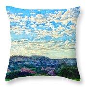 Colorado Skies 1 Throw Pillow