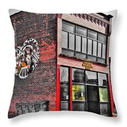 Colored Musicians Club Throw Pillow