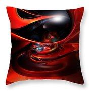Colorfast Eye Remaster Fx  Throw Pillow