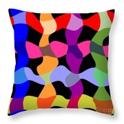 Colorfield Theory, No. 1 Throw Pillow