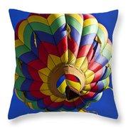 Colorful Balloon Throw Pillow