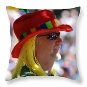 Colorful Character Throw Pillow