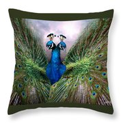 Colorful Friendship Throw Pillow