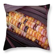 Colorful Indian Corn Throw Pillow