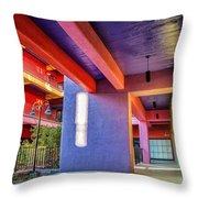 Colorful Tucson Apartment Throw Pillow