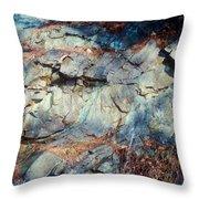 Colorfull Rocks Throw Pillow