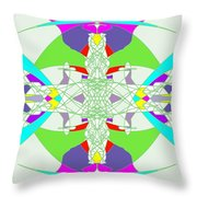 Colorization Throw Pillow