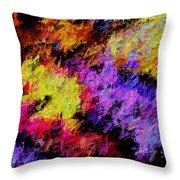 Colorosity Throw Pillow
