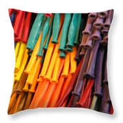 Colors For All Ages Throw Pillow