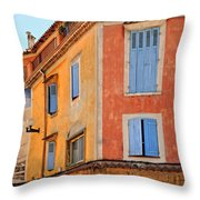 Colors In Provence Throw Pillow