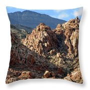 Colors In The Desert Throw Pillow