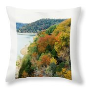Colors Of A Tennessee Fall Throw Pillow