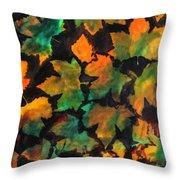 Colors Of Autumn Throw Pillow