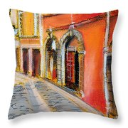 Colors Of Lyon 4 Throw Pillow