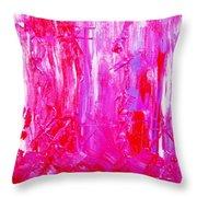 Colorz 6 Throw Pillow