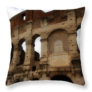 Colosseum 1 Throw Pillow